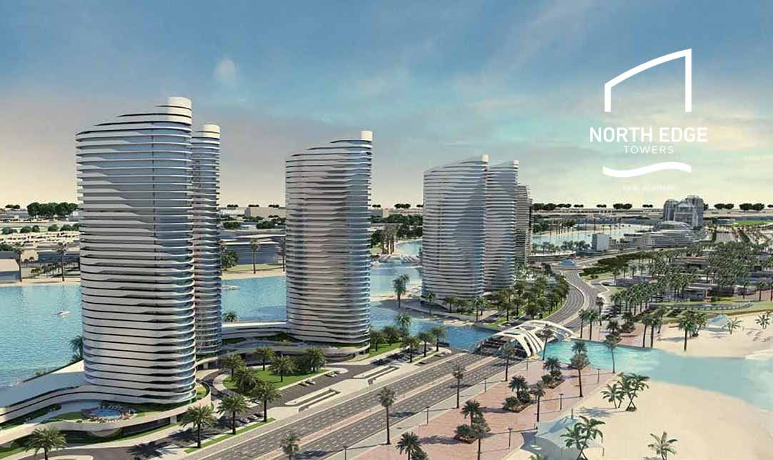 For Sale in North Edge Towers Al Alamein Apt.