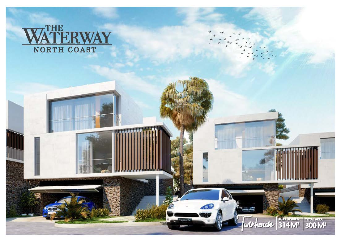 Waterway North Coast Twin house For sale